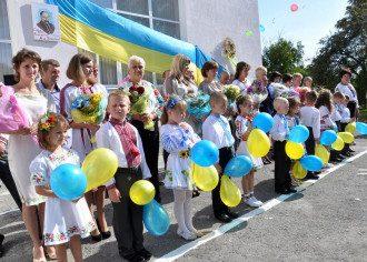 Первый звонок 2021 Украина