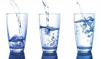 вода, склянка води