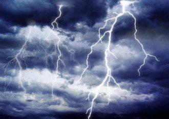 гроза, шторм