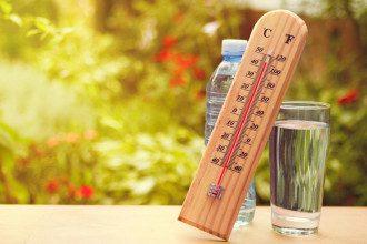 погода, спека, підвищення температури