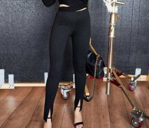 Модные узкие брюки осень-зима 2021 2022