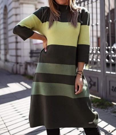 Трикотажні сукні осінь зима 2021 2022