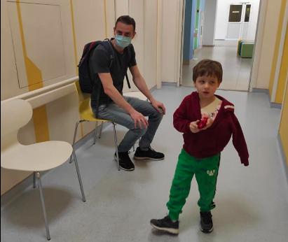 Ребенок получил перелом ключицы