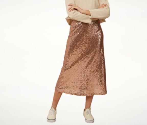 Модные юбки осень-зима 2021 2022 в стиле 30-х