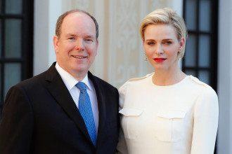 Князь Альберт и княгиня Шарлен