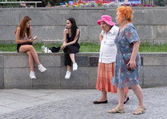 Киев, люди