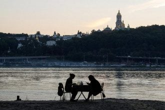 погода, Киев, Днепр, пара, свидание