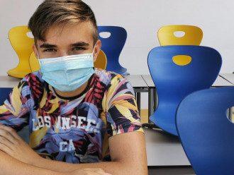 дети, коронавирус , маска