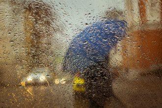 погода, осінь, дощ, Парасолька