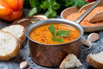 суп, сочевиця