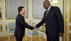 Первый в истории Украины визит главы Пентагона: о чем Ллойд говорил с Зеленским