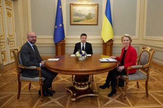 В Киеве состоялся саммит Украина-ЕС